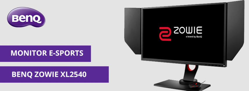 Nuevo monitor BenQ ZOWIE XL2540 para los eSports