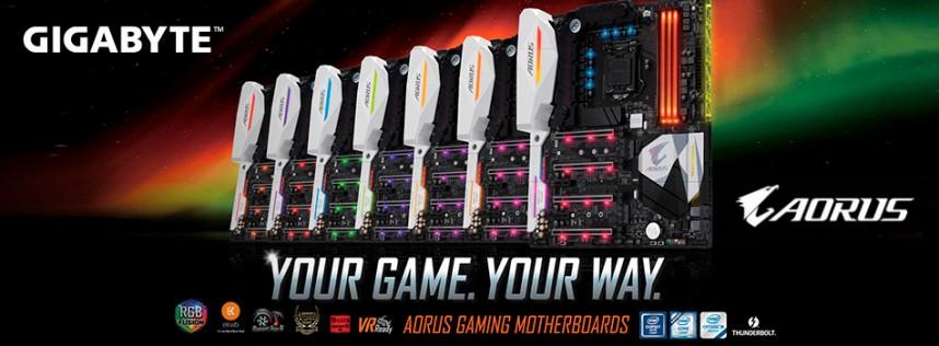 Conoce las nuevas placas base AORUS Gaming de GIGABYTE