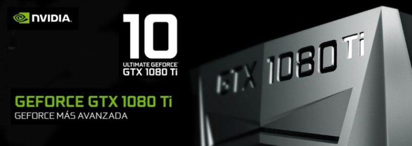 Descubre la nueva estrella de NVIDIA, la GeForce® GTX 1080 Ti