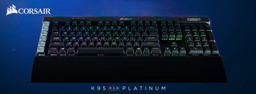 K95 PLATINUM lleva el rendimiento de CORSAIR a otro nivel