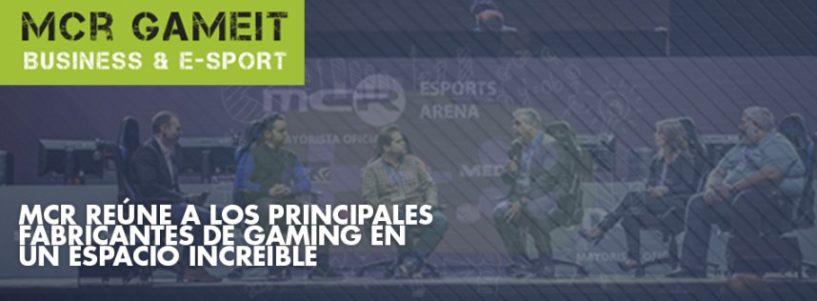 MCR reúne a los principales fabricantes de gaming en un espacio increíble, el Palacio Vistalegre.