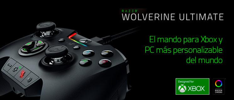Razer Wolverine Ultimate – el mando para Xbox y PC más personalizable del mundo
