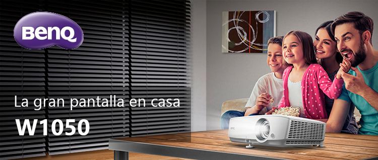 Proyector de cine en casa: proyector W1050 BenQ