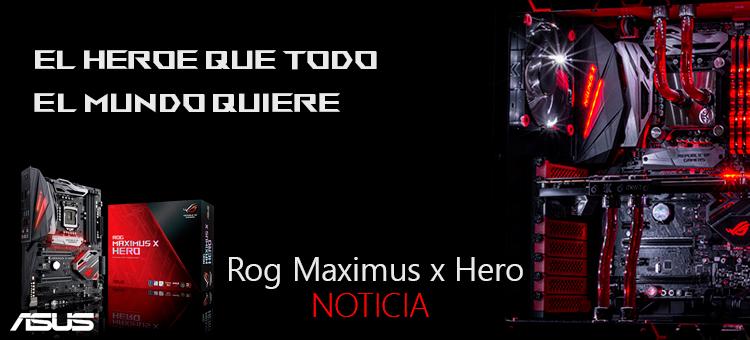 Rog Maximus X Hero