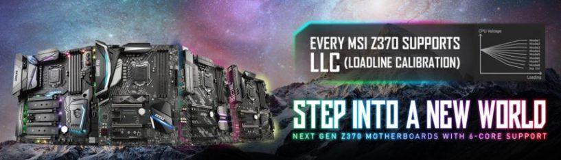 LLC, ¿Qué es y por qué las placas base MSI Z370 son la mejor opción para el overclocking?