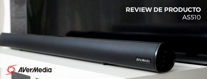 Análisis de la barra de sonido AS510 de AVerMedia