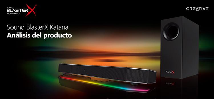 Sound BlasterX Katana: análisis del producto