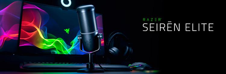 Razer presenta un nuevo micrófono para streaming de calidad profesional