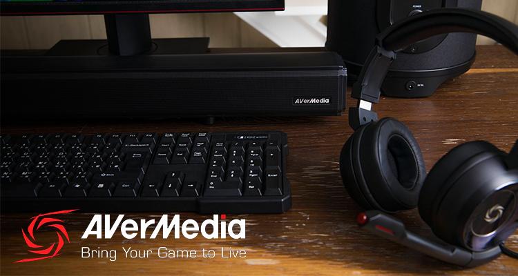 AVerMedia apuesta por las soluciones de AUDIO para el mundo del GAMING