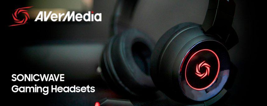AVerMedia presenta el Sonicwave Gaming Headset
