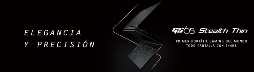 Elegancia y precisión en los nuevos portátiles de MSI