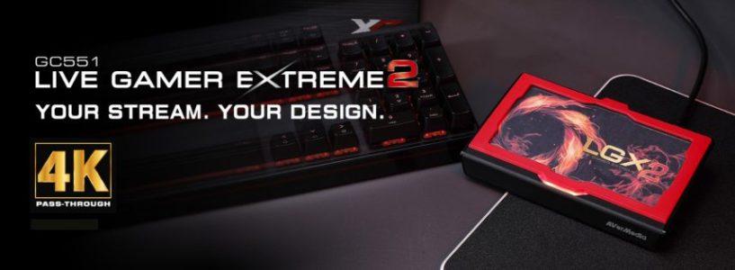 AVerMedia Presenta Live Gamer Extreme 2 (LGX2)