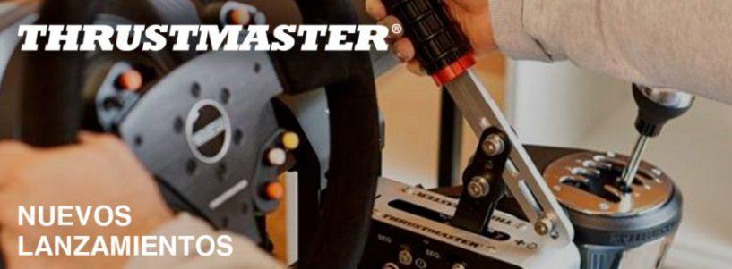 Thrustmaster refuerza el arsenal de su ecosistema de carreras con el lanzamiento de tres nuevos accesorios en septiembre.