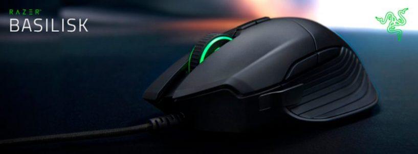 ¿Aún no conoces el ratón Gaming Razer Basilisk? Te lo mostramos.
