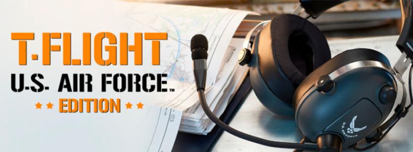T.Flight U.S. Air Force Edition — Los auriculares de gaming multiplataforma creados para rendir homenaje a los pilotos de la Fuerza Aérea de EE. UU.