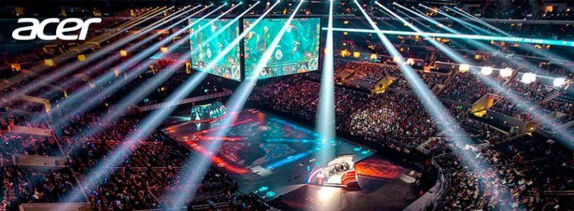 Acer seguirá siendo socio y proveedor oficial de monitores para el Campeonato Mundial de League of Legends 2018