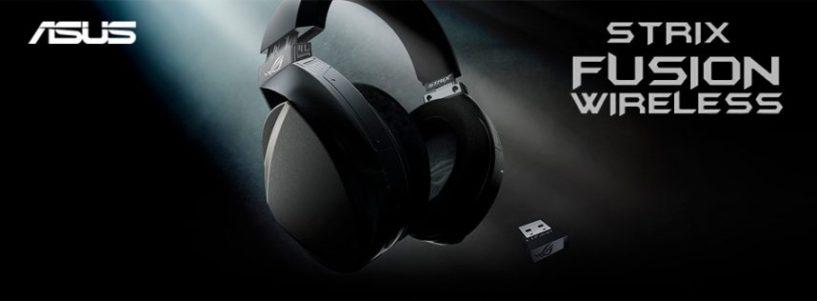Auriculares Asus ROG Strix Fusion Wireless. Juega sin limitaciones.