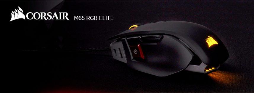 CORSAIR M65 RGB ELITE: diseñado especialmente para juegos en primera persona.