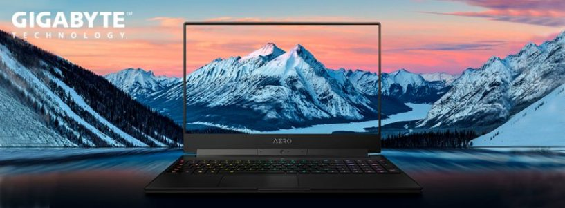 GIGABYTE presenta los portátiles AERO 15-X9 e Y9 con gráficos RTX