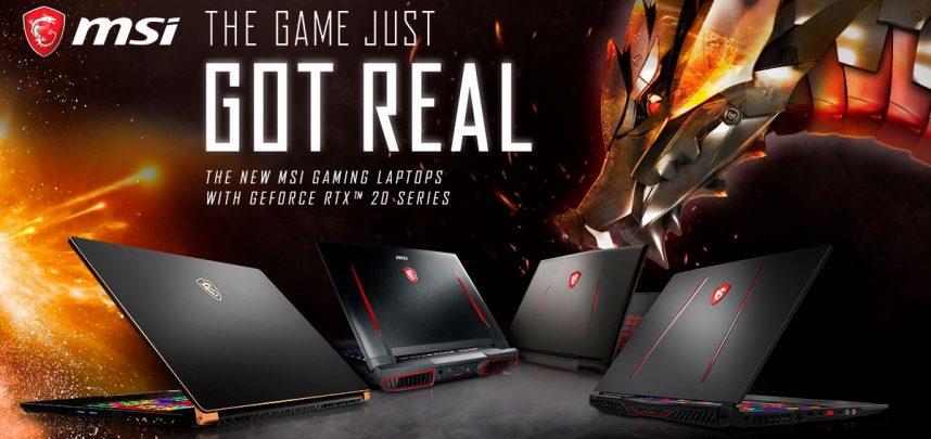 MSI presenta su nueva línea con la última tecnología NVIDIA GeForce RTX