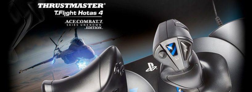 Thrustmaster® prepara el aterrizaje y desvela los últimos detalles de su nuevo T.Flight Hotas Ace Combat 7 Skies Unknown edition