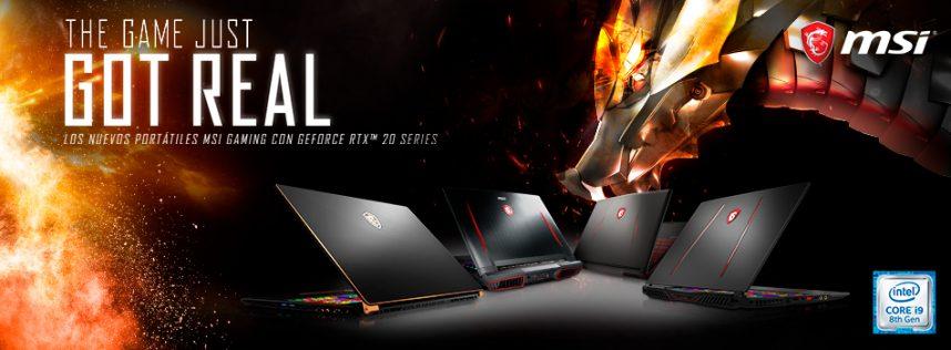 Experimenta un rendimiento extremo con increíbles detalles: GS75 Stealth y GS65 Stealth con la última tecnología NVIDIA® GeForce RTX ™