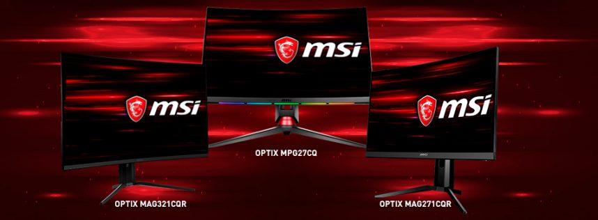 Te mostramos los MSI Optix, los mejores monitores gaming de MSI