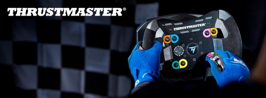 Thrustmaster® se asocia con Blancpain GT Series para anunciar los próximos lanzamientos de dos nuevos aros de volante en su ecosistema de carreras