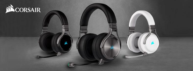 CORSAIR ofrece un sonido increíble y una claridad impecable con los nuevos auriculares inalámbricos para juegos VIRTUOSO RGB