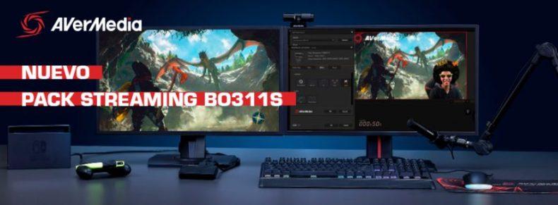 AVerMedia presenta su nuevo PACK STREAMING BO311S ¡Hacer streaming ahora al alcance de tu mano!