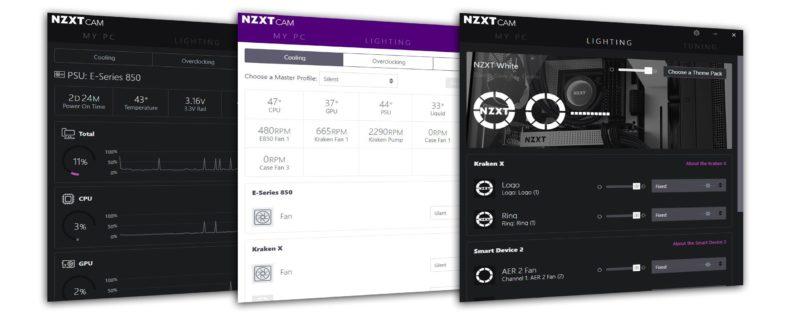 Actualización de NZXT CAM a la versión 4.0