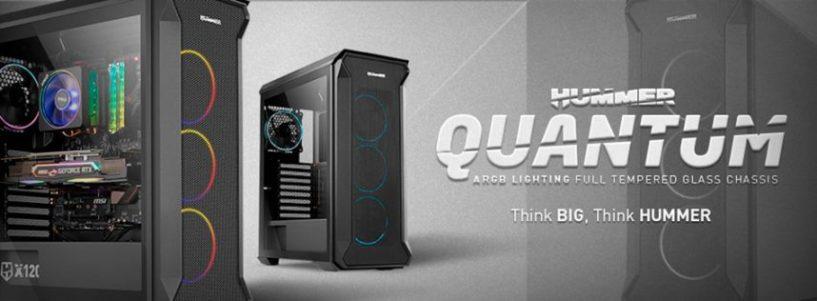 Nox presenta Hummer Quantum: un robusto diseño para configuraciones de alto rendimiento