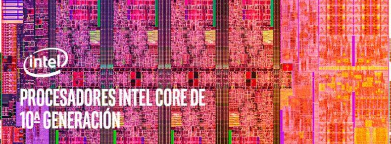 Procesadores Intel Core de 10ª generación