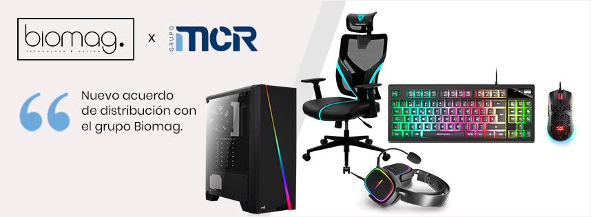 MCR amplía su portfolio de gaming con las marcas del grupo BIOMAG