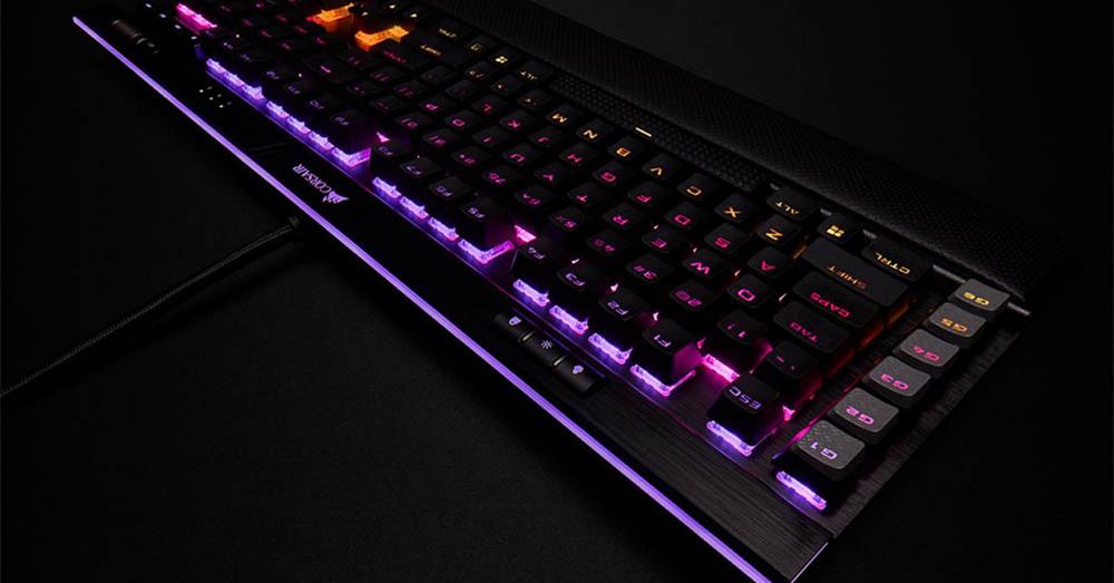 Corsair teclado mecánico