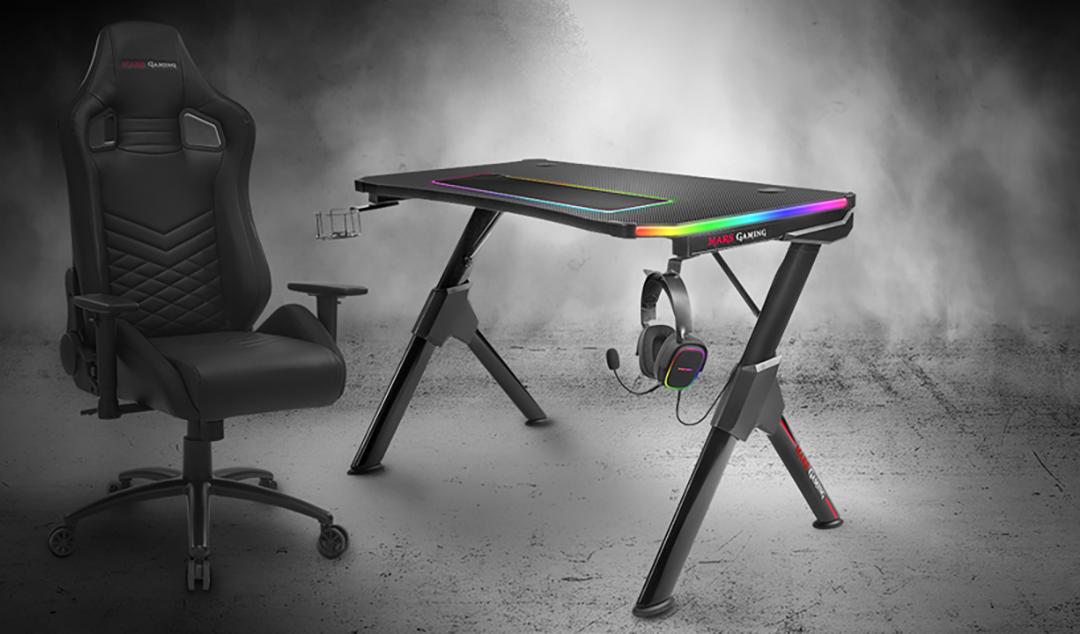 La mesa de Gaming MGD RGB más avanzada