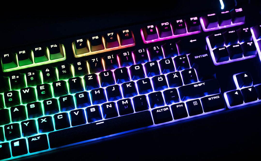TOP 10 teclados gaming del momento
