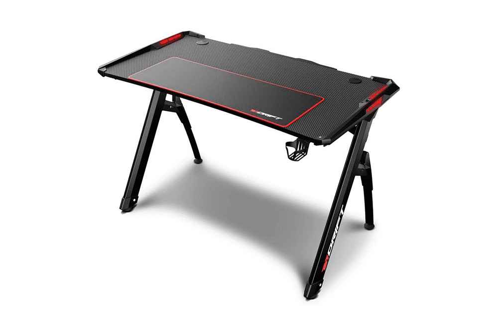 Drift DZ300 Mesa Gaming RGB Negra