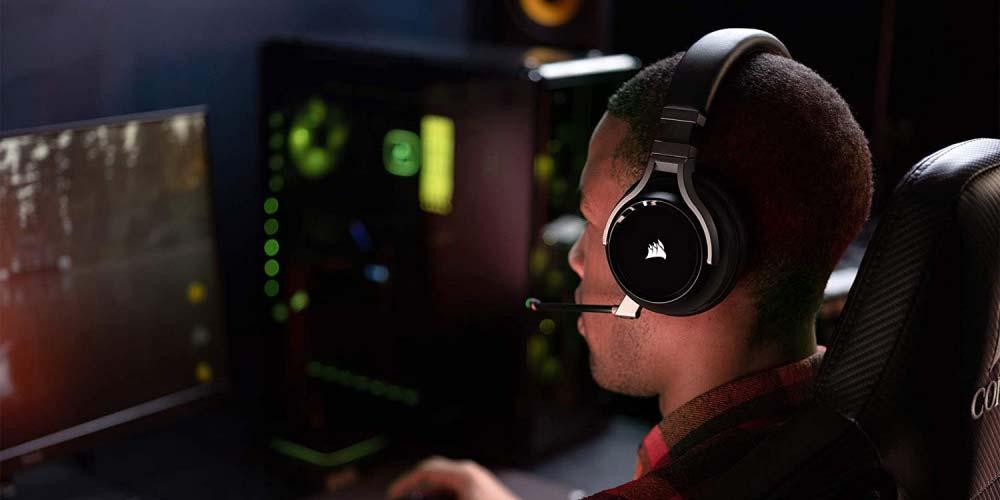 Uso de los auriculares Corsair Virtuoso RGB Wireless