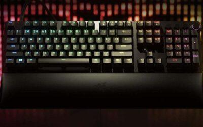Mejora tu precisión con el teclado gaming Razer Huntsman V2 Analog