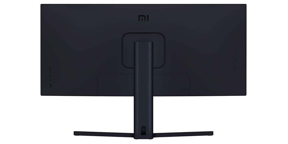 Trasera del Xiaomi Mi Curved Gaming