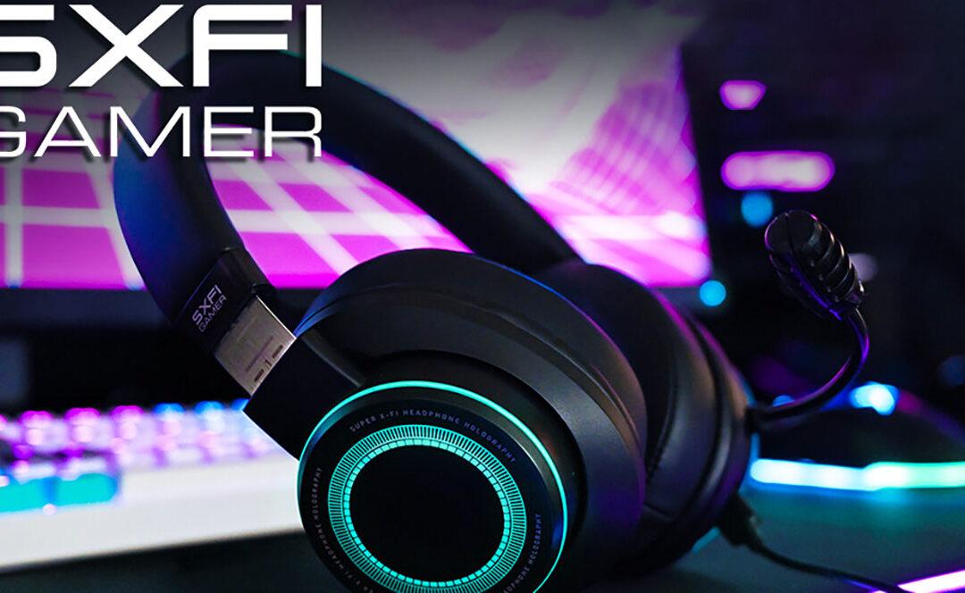 Creative SXFI Gamer, con una tecnología de sonido inigualable
