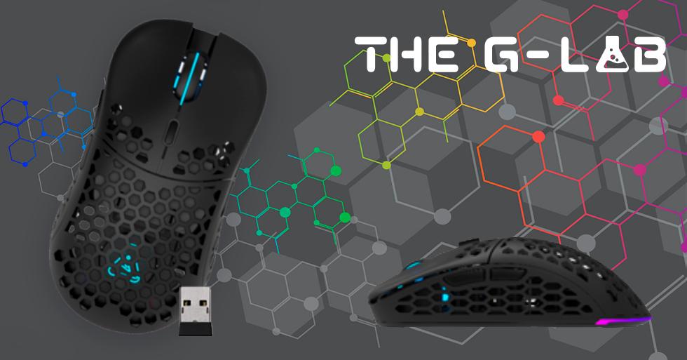 Kult BERYLLIUM, mouse inalámbrico de alto rendimiento para juegos