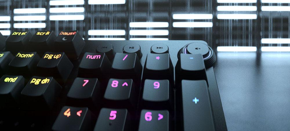 Botones del teclado Razer Huntsman V2 Analog