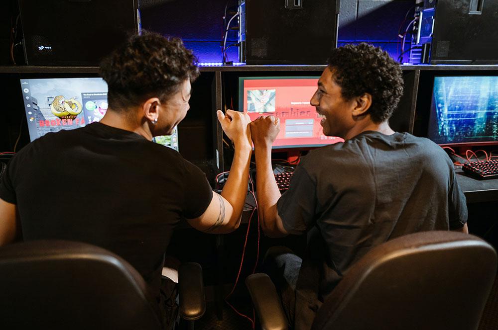 gamers en el PC
